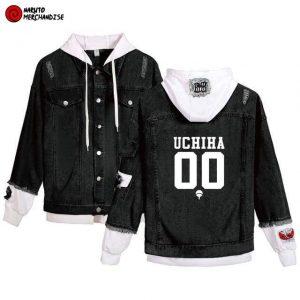 Naruto Jacket <br>Uchiha Team (Denim)