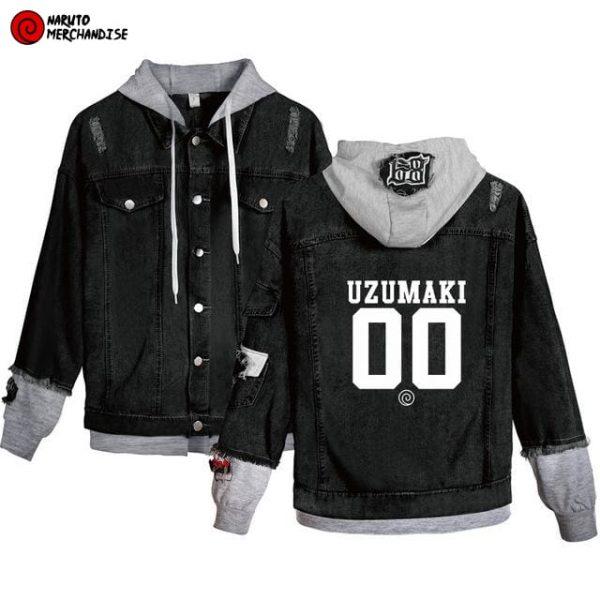 Naruto Jacket <br>Naruto Uzumaki Team (Denim)