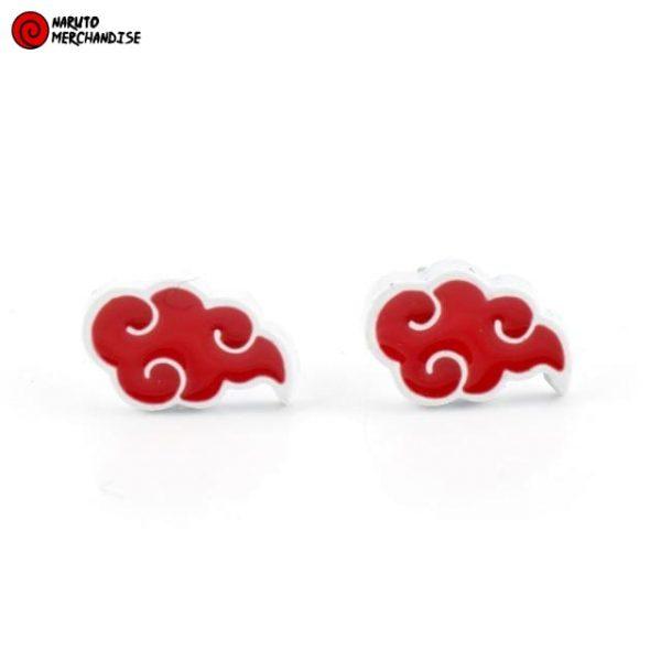 Naruto Earrings <br>Akatsuki Cloud Symbols