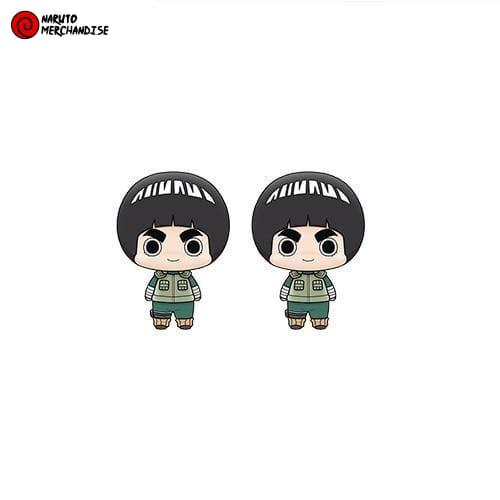 Naruto Earrings <br>Lee Rock (Chibi)