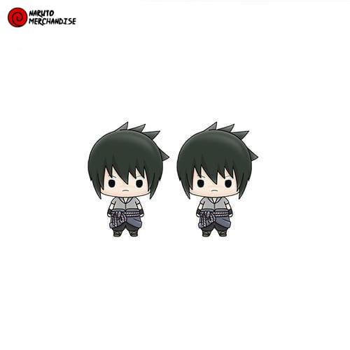 Naruto Earrings <br>Sasuke Uchiha (Chibi)