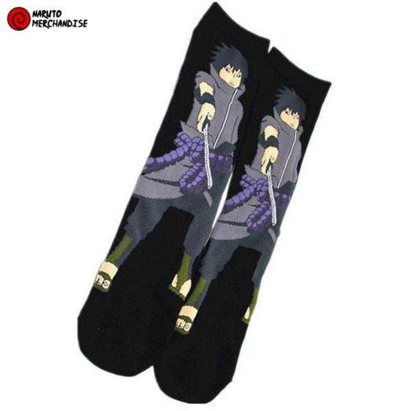 Naruto Socks <br>Sasuke Uchiha