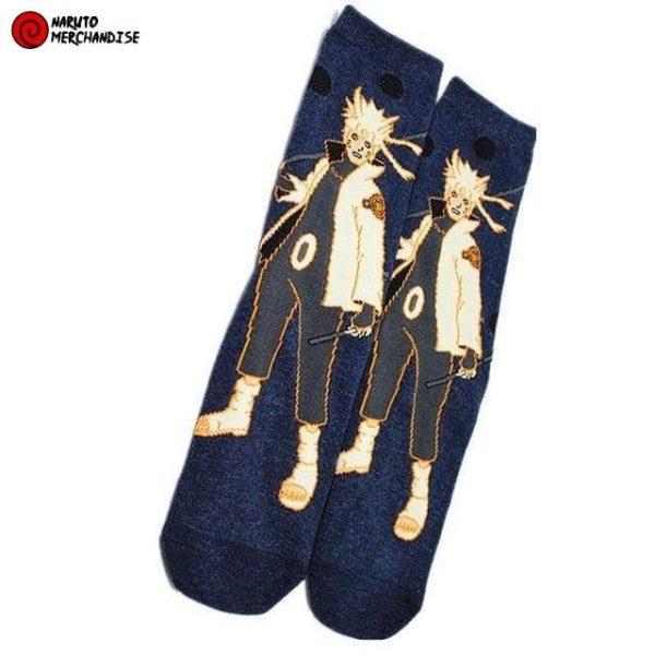Naruto Socks <br>Naruto Kurama Mode