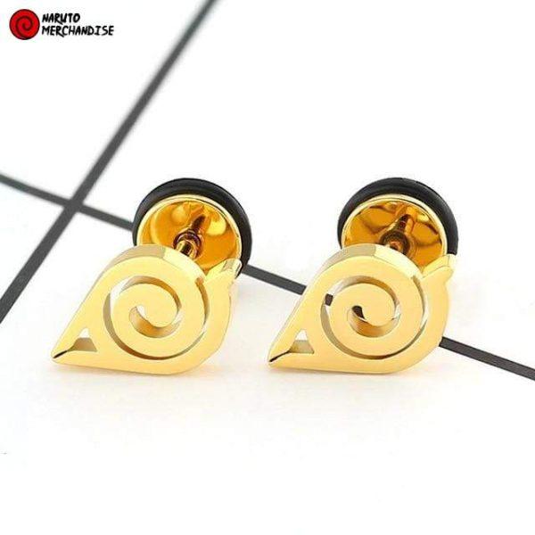 Naruto Earrings <br>Hidden Leaf (Konoha)