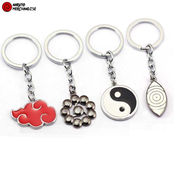 Naruto Keychain <br>Rinnegan