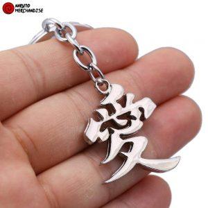 Naruto Keychain <br>Gaara's Symbol (Love)
