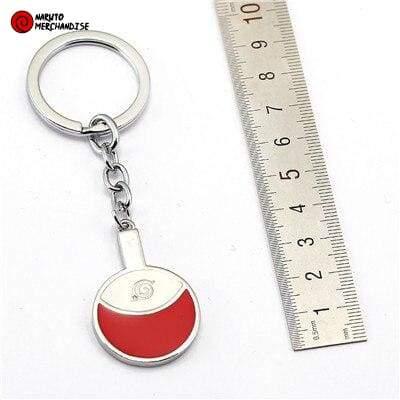 Naruto Keychain <br>Uchiha Crest
