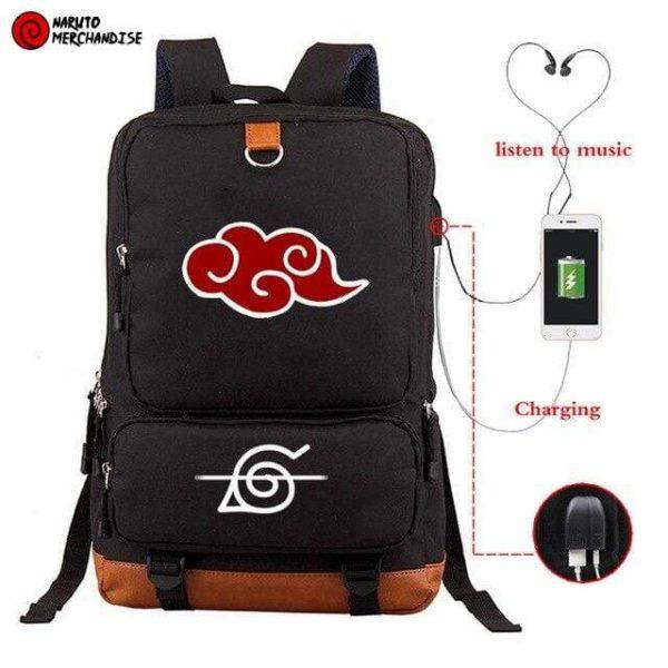 Naruto Backpack <br>Akatsuki Symbol