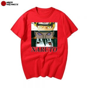 Naruto T-Shirt <br>Naruto and Sasuke vs Pain