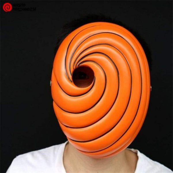Naruto Mask <br>Tobi Orange Mask