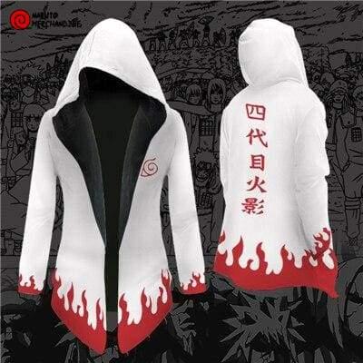 Naruto Cloak <br>Minato Namikaze (Hooded)