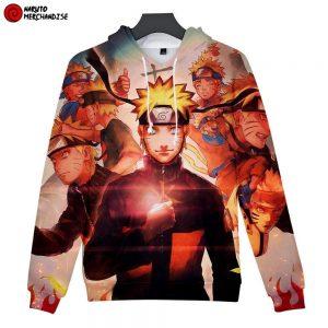 Naruto Hoodie <br>Evolution of Naruto