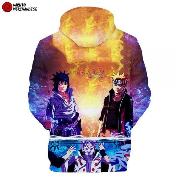 Naruto Hoodie <br>Naruto & Sasuke Reunion