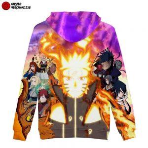 Naruto Hoodie <br>Fourth Ninja War