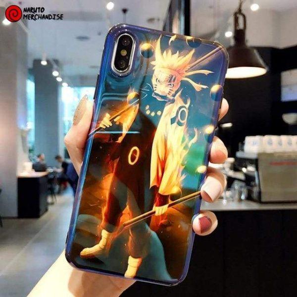 Naruto Iphone Case <br>Naruto Kyubi Mode