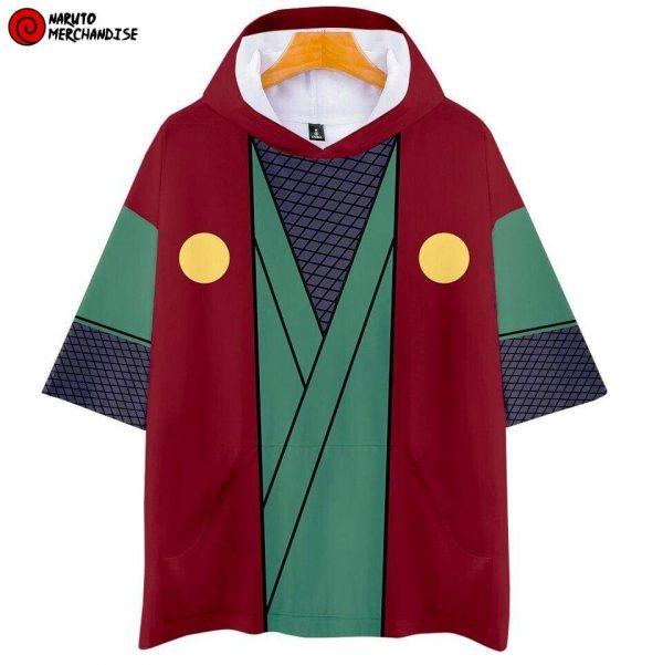 Naruto Short Sleeve Hoodie <br>Jiraiya