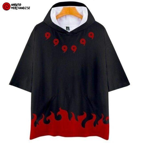 Naruto Short Sleeve Hoodie <br>Madara Uchiha