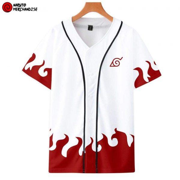 Naruto Baseball Jersey Shirt <br>Minato Namikaze Hokage