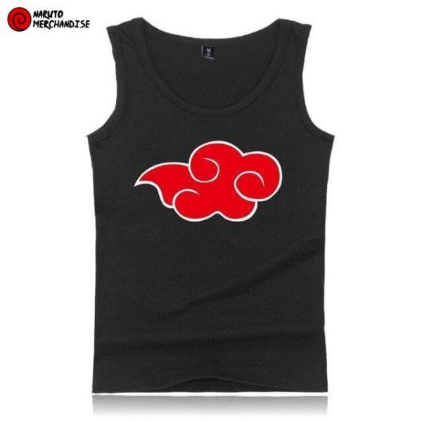 Naruto Tank Top <br>Akatsuki Cloud