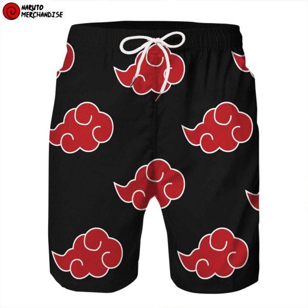 Naruto Swim Trunks Shorts <br>Akatsuki Clouds