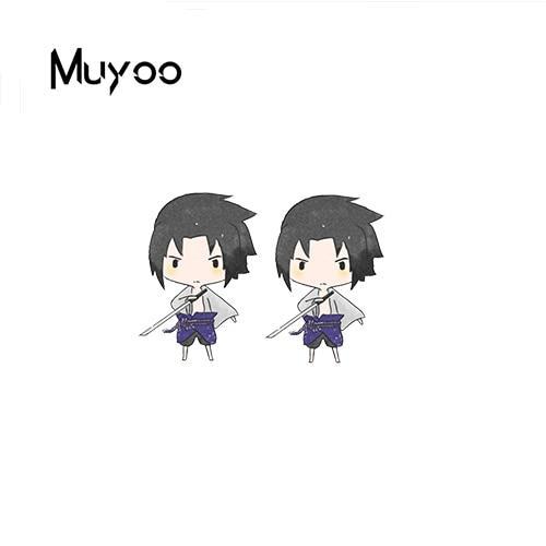 Naruto Earrings <br>Cute Sasuke