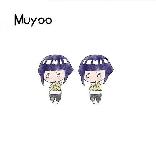 Naruto Earrings <br>Cute Hinata Hyuga