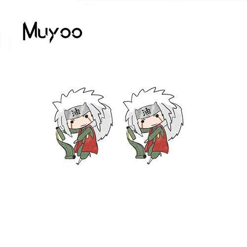 Naruto Earrings <br>Cute Jiraiya