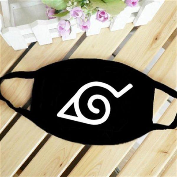Naruto Face Mask <br>Konoha Symbol