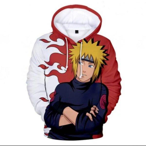 Naruto Hoodie <br>Minato Yellow Flash