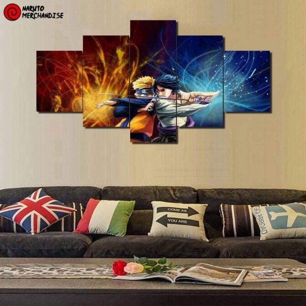 Naruto Wall Art<br> Legendary Ninjas