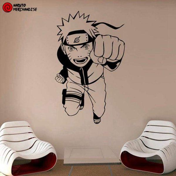 Sticker Naruto<br> Dattebayo