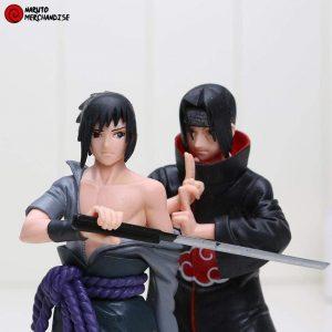 Naruto Figure <br> Sasuke and Itachi Uchiha