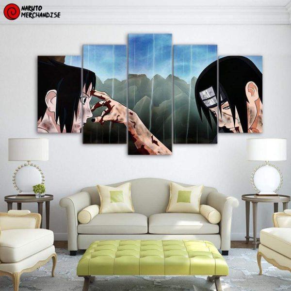 Naruto Wall Art Yuruse Sasuke - Kore De Saigo Da
