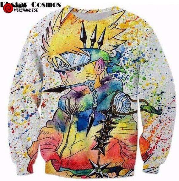 Naruto Sweatshirt <br>Naruto Colorful