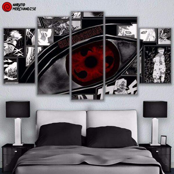 Naruto Wall Art Sharingan
