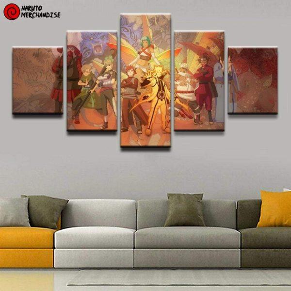 Naruto Wall Art<br> Jinchuriki & Biju