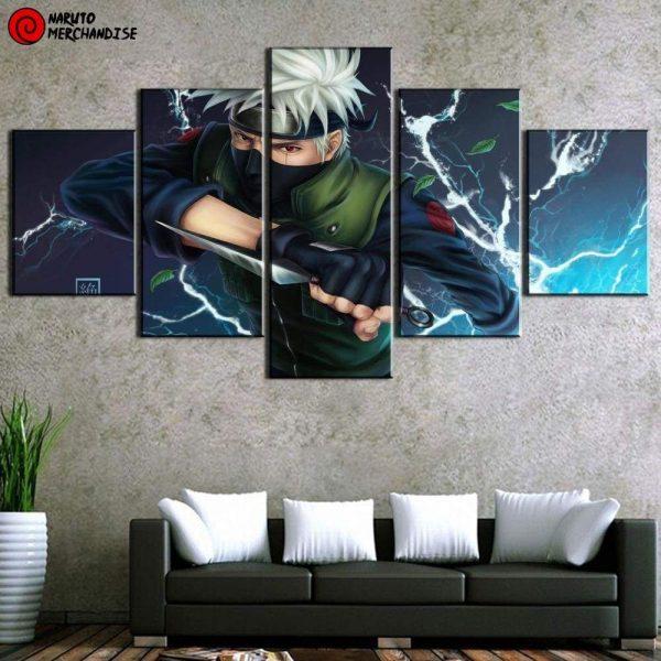 Naruto Wall Art<br> Copy Ninja Kakashi
