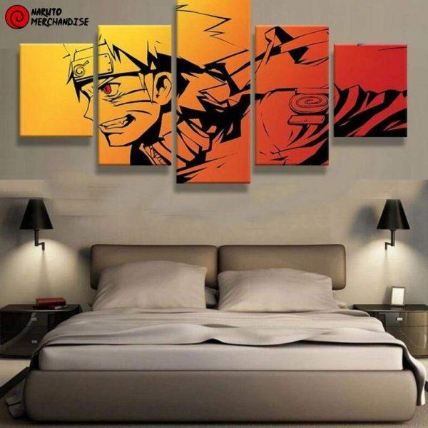 Naruto Wall Art<br> Kyubi Jinchuriki