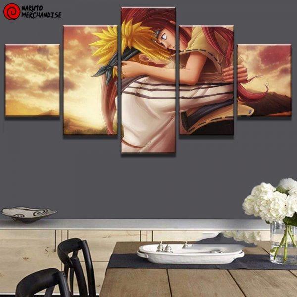 Naruto Wall Art Minato & Kushina