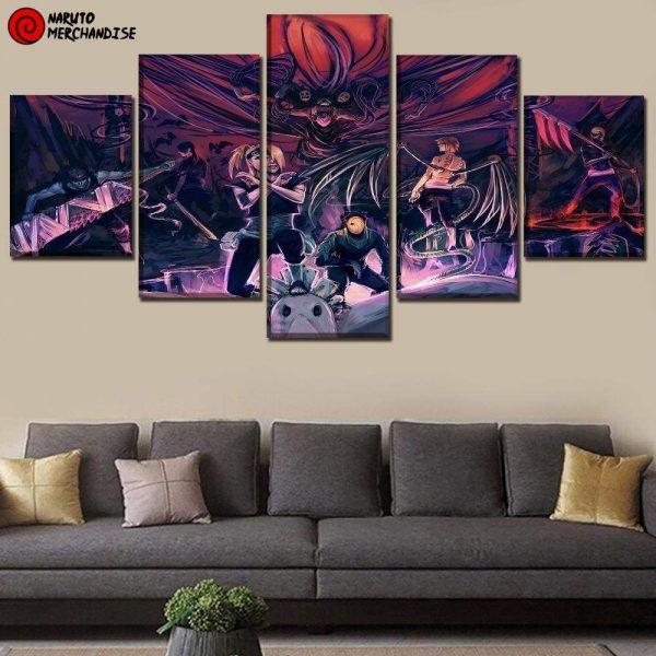 Naruto Wall Art<br> Akatsuki Members