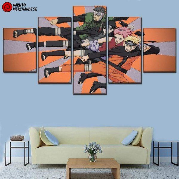 Naruto Wall Art Yamato Team