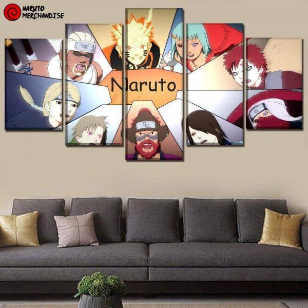 Naruto Wall Art<br> Jinchuriki's Reunion