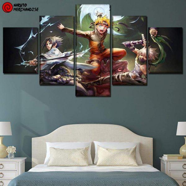 Naruto Wall Art Team 7 Return