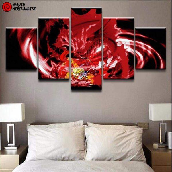 Naruto Wall Art<br> Kyubi