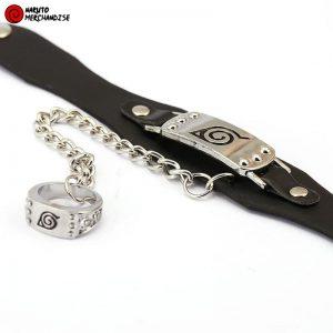 Naruto Bracelet and Ring <br>Hidden Leaf (Konoha)
