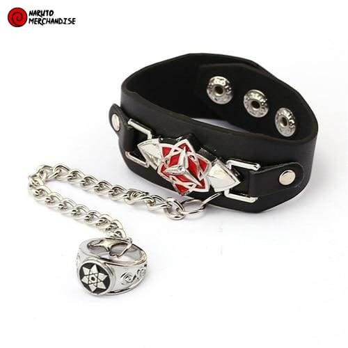 Naruto Bracelet and Ring <br>Mangekyou Sharingan (Sasuke)