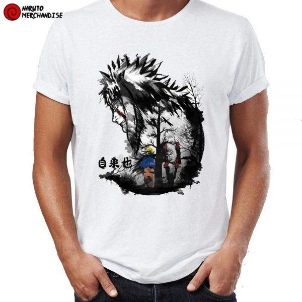 Naruto Shirt <br>Naruto and Jiraiya