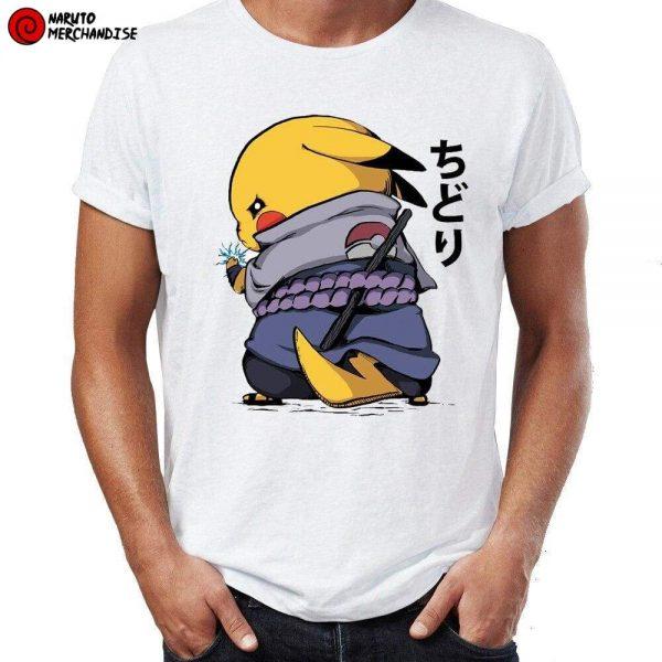 Naruto Shirt <br>Pikachu Sasuke Uchiha