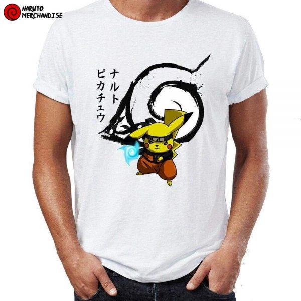 Naruto Shirt <br>Pikachu Naruto Rasengan