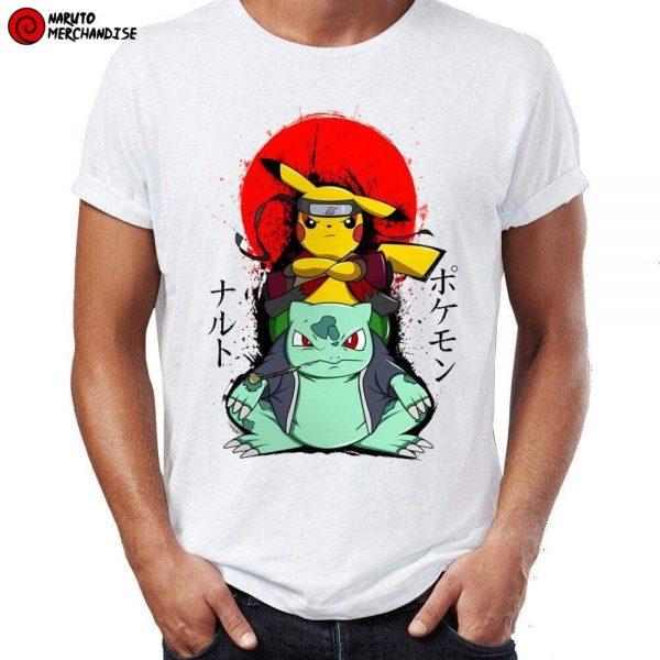 Naruto Shirt <br>Pikachu Bulbasaur
